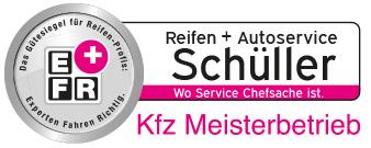 Logo Reifen + Autoservice Schüller OHG