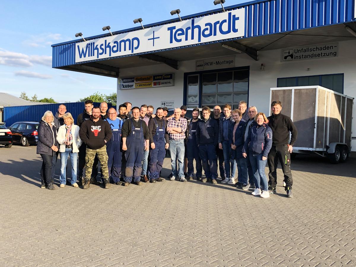 Das Team Wilkskamp + Terhardt 2019.